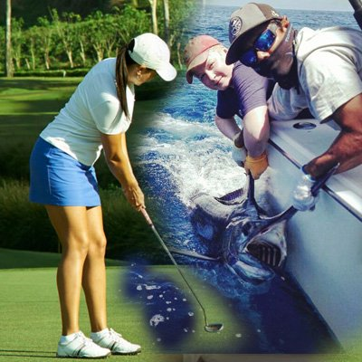 Golf and Fishing Package